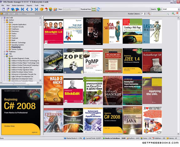 Alpha Ebooks Manager - Originally Posted at http://www.getfreeebooks.com