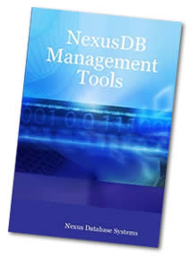 NexusDB Management Tools