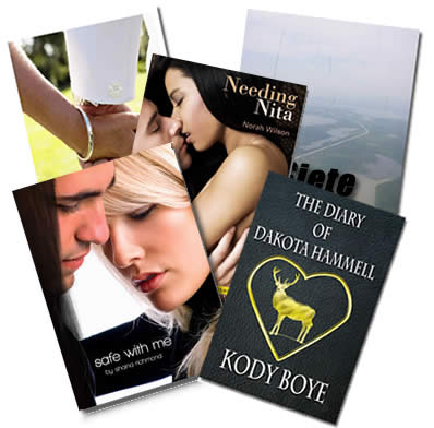 5 Free Romance & Erotic Ebooks by Various Authors