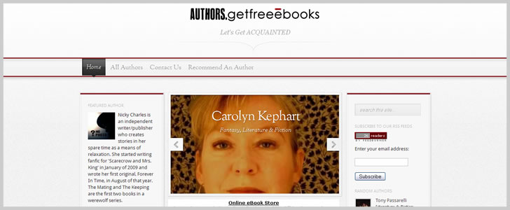 GetFreeEbooks Authors