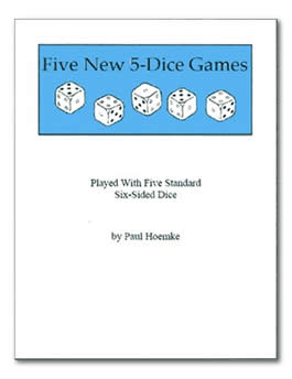 Five New 5-Dice Games