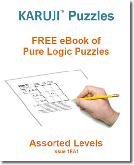 Karuji Logic Puzzles by Robert Scully Wood