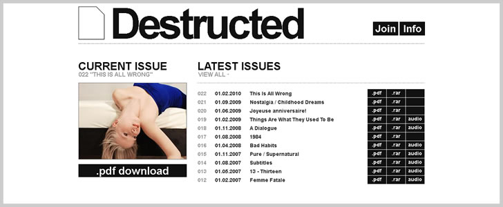 Destructed Magazine
