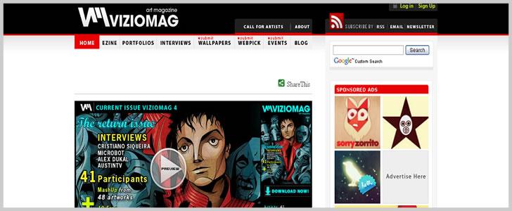 Viziomag Art Magazine