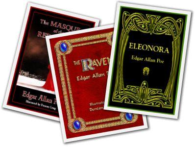 best sellers my 3 free edgar allan poe ebooks book cover