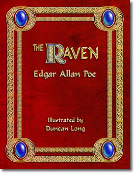 The Raven by Edgar Allan Poe, Illustrated by Duncan Long