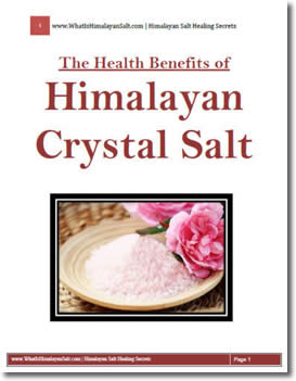 The Health Benefits Of Himalayan Crystal Salt by Gianfranco Simone