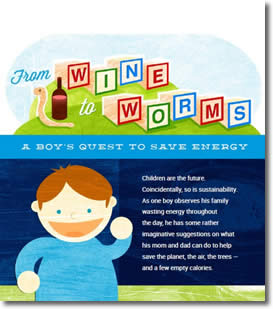 From Wine to Worms by Sandy Moore