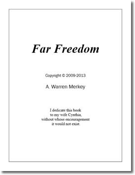 Far Freedom by A. Warren Merkey