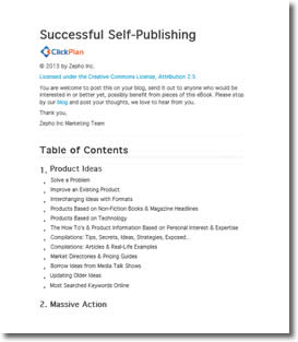 Successful Self Publishing by Erica Myers