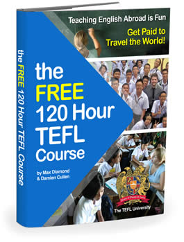 The Free 120 Hour TEFL Course by Max Diamond/ Max Diamond