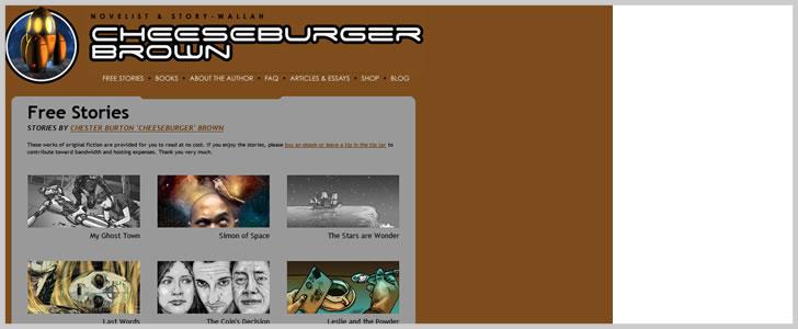 Cheeseburgerbrown.com (Sci-Fi)