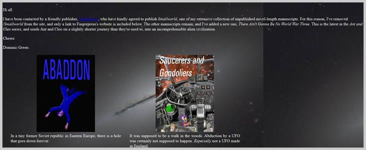 Homepage.Ntlworld.com (Sci-Fi & Fantasy)