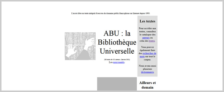 15 Sites With Free French Ebooks Covering Over Thousands of