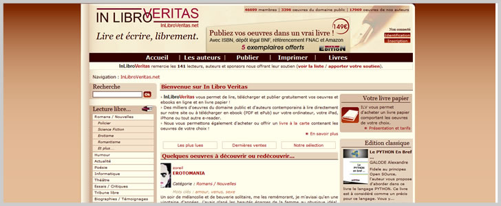 Download Free Ebooks, Legally » 15 Sites With Free French ...
