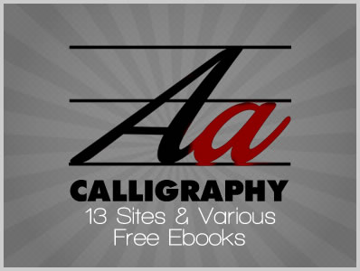 Calligraphy 13 Sites Various Free Ebooks Download Free