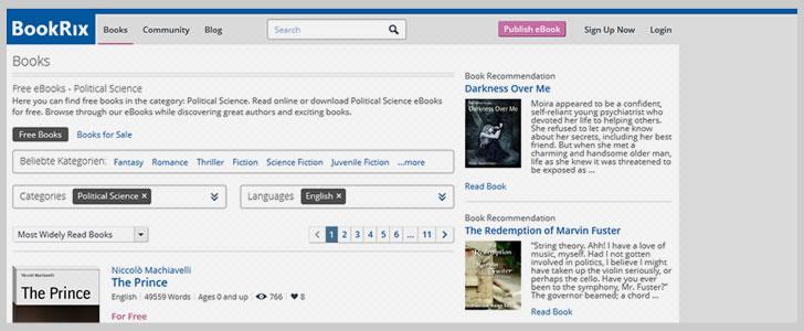 Politics & Political Science: 10 Sites & Various Free Ebooks