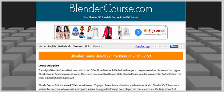 Blender 3D: 9 Sites & Various Free Ebooks | Download Free