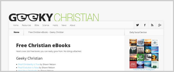 Hundreds of Free Christian Ebooks | Download Free Ebooks