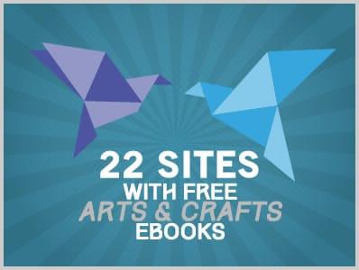 22 Sites With Free Art & Craft Ebooks