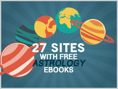 27 sites with Astrology Ebooks