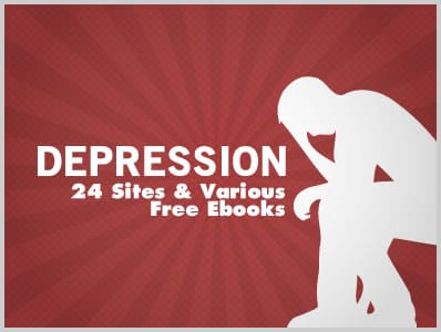 Depression: 24 Sites & Various Free Ebooks | Download Free