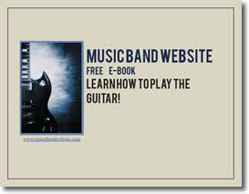 Musicbandwebsite Guitar Playing
