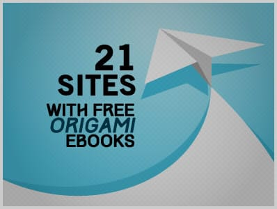 21 Sites With Free Origami Ebooks