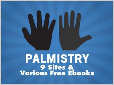 Palmistry: 9 Sites & Various Free Ebooks