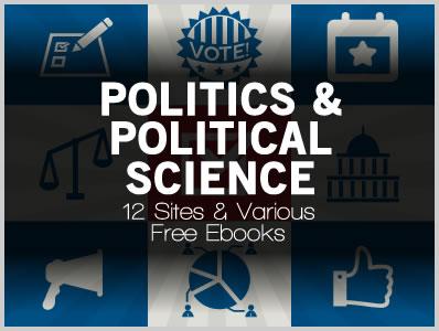 Politics Political Science 10 Sites Various Free Ebooks