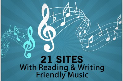21 Sites with Reading / Writing Friendly Background Music