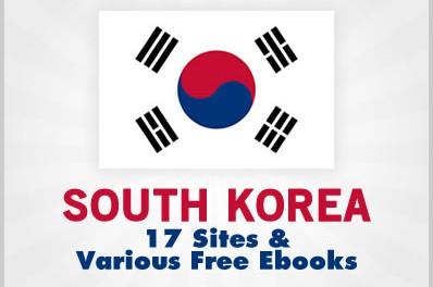 South Korea: 17 Sites & Various Free Ebooks