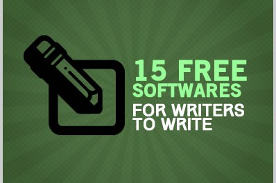 15 Free Tools / Softwares For Writers to Write