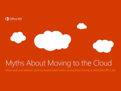 9 Myths About Moving to the Cloud eBook