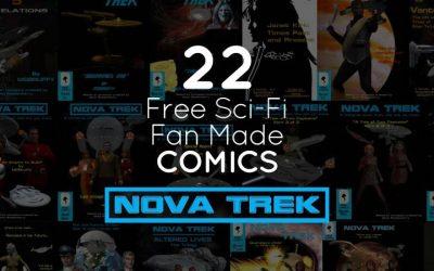 Novatrek: 22 Free Sci-Fi Fan Made Comic