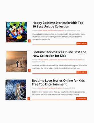 20 Collections Of Free Bedtime Inspirational Stories For Kids