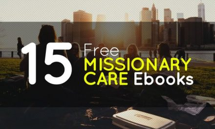 15 Free Missionary Care Ebooks