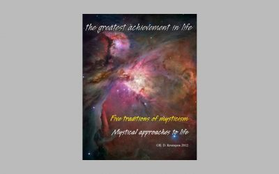 Five Traditions of Mysticism Mystical Approaches to Life