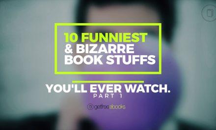 10 Funniest & Bizzare Book Stuffs You'll Ever Watch