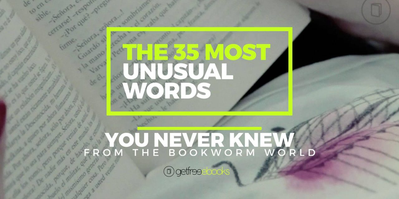 The 35 Most Unusual Words You Never Knew From the Bookworm World