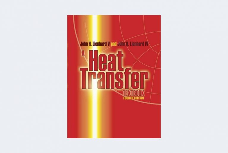 A Heat Transfer Textbook, 4th edition
