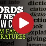 (Video) 15 Words You Never Knew Came From Famous Literatures