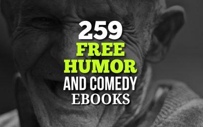 259 Free Humor & Comedy Ebooks