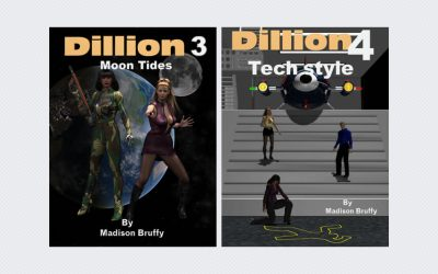 Dillion 3: Moon Tides & Dillion 4: Tech Style by Madison Bruffy