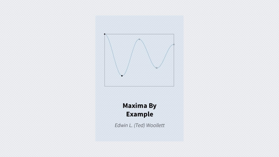 Maxima By Example | Download Free Ebooks, Legally