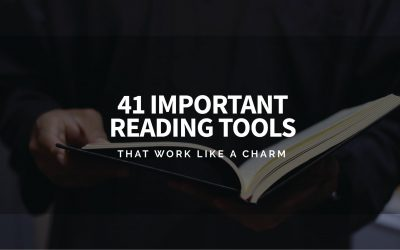 41 Important Reading Tools That Work Like A Charm