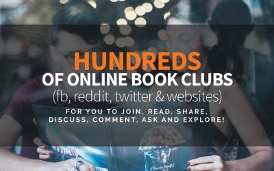 Hundreds of Online Book Clubs for You to Join, Read, Share, Discuss, Ask and Explore!
