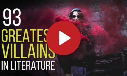 (Video) 93 Greatest Villains in Literature – In No Particular Order